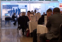Session and exhibitors at agent workshop